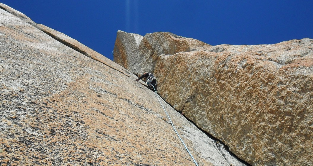 Rock climbing :Granit in Chamonix - Great Dolomites in