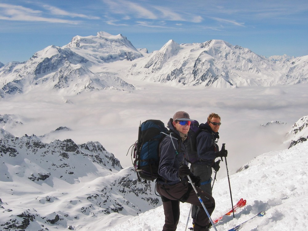 Ski touring haute route chamonix zermatt imperial alpes for Haute route des alpes